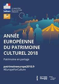 Affiche de l'Année européenne du patrimoine